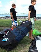 Boardbag 145 cm s kolečky